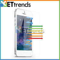 100% anti blue light anti-radiation screen protector for iphone 5