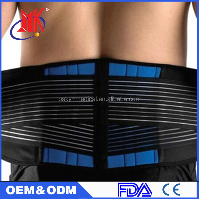 Leather Back Support Brace Pain Relief