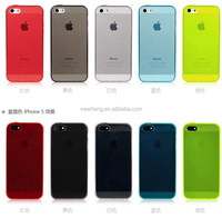 For iPhone 4 4S 5 5G Soft Ultra Slim Gel TPU Silicone Transparent Case Cover