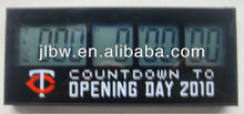 High quality 999 days large digital LED countdown timer/kitchen timer