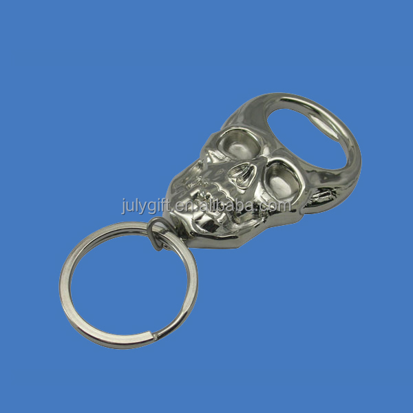custom 3d metal skeleton key rings