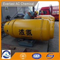 super quality liquid ammonia gas 99.8% from shandong factory