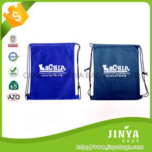 wholesale custom promotional cheap calico small drawstring shoe bag , drawstring bag
