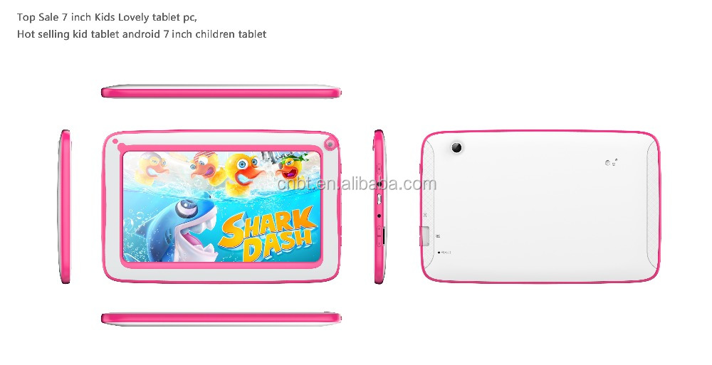 free shipping 7 inch capacitive screen Quad Core A33 4GB wifi kids Tablet pc