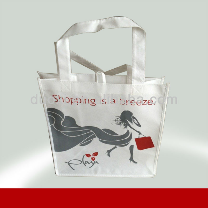Popular non woven water resistant women shopping tote bags 100% manufacturer