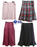 USED CLOTHING; Ladies Mixed Skirts