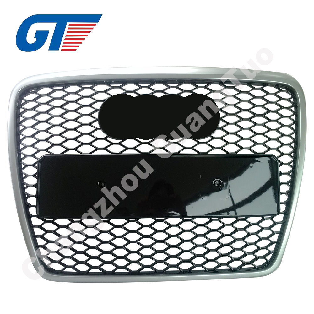Auto parts high quality RS6 style front grille for audi A6