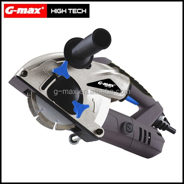 G-max Power Tools 1500W 125mm Wall Chaser Blade GT19704