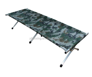 military style furniture Aluminum Frame folding cot