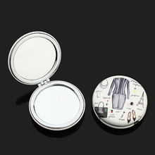 Best choice for wedding souvenir custom made logo cosmetic mirror