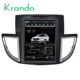 "Krando Android 7.1 10.4"" Vertical screen car dvd audio player for Honda CRV 2012+ multimedia navigation system KD-HC452"