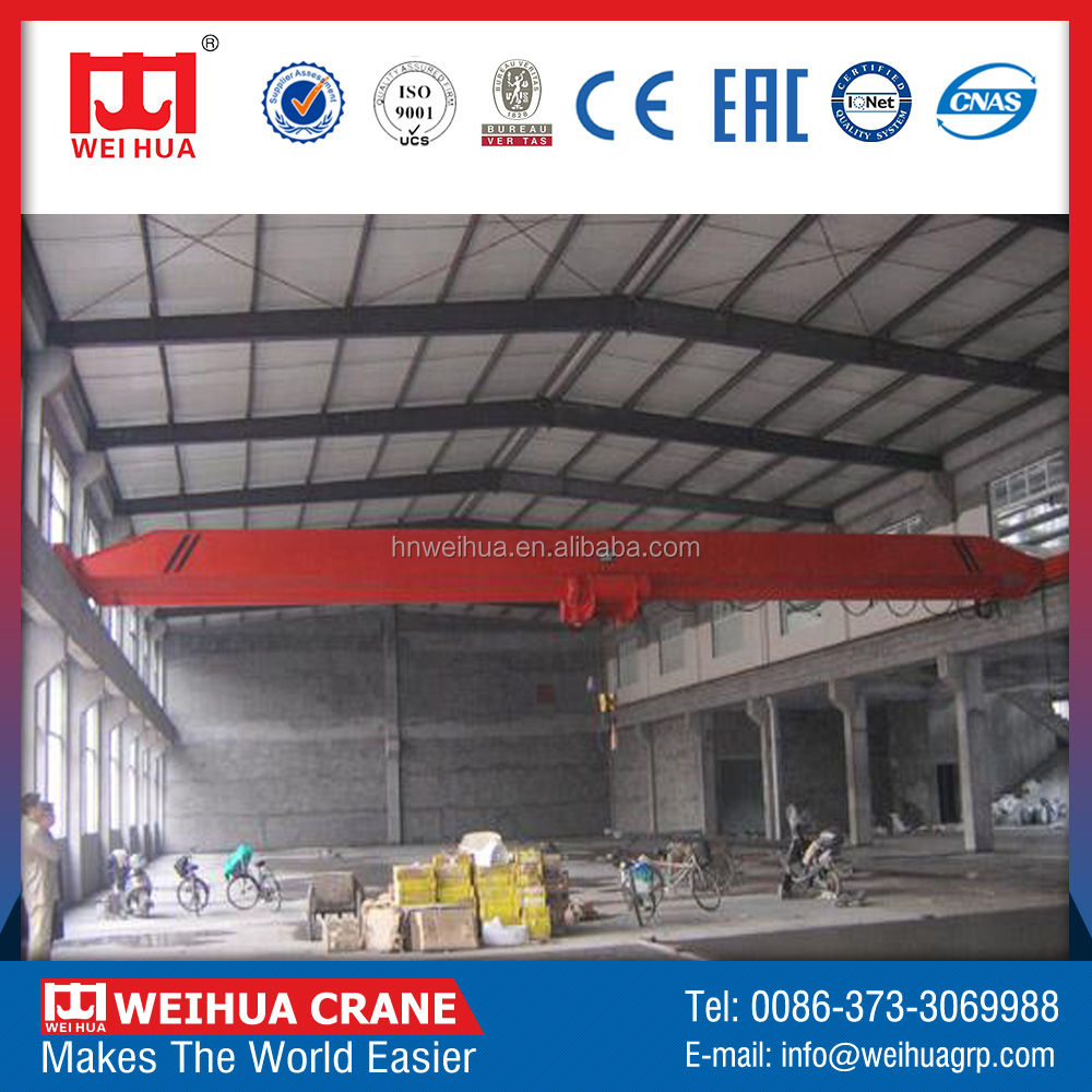 Very Popular Ld Model Single Beam 3T Overhead Crane For 2T