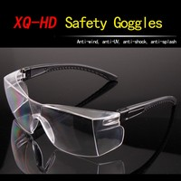 CE standard new arrival fit over side shield safety glasses