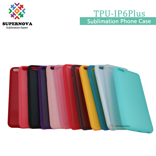 Diy TPU Mobile Phone Cases, Sublimation Printing Cover for IP6 Plus