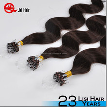 hot selling italian glue double drawn cheap remy wholesale micro ring hair extensions yaki