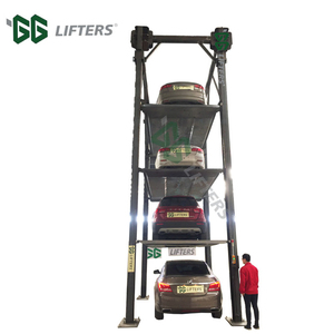 residential hydraulic auto stacker parking used 2 post car lift for sale