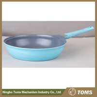 Easy for clean square microwave frying pan