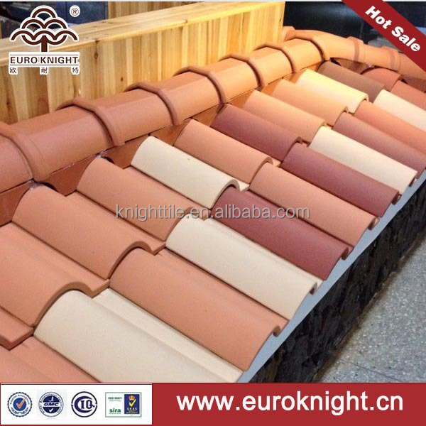 different style terracotta synthetic spanish roof tile