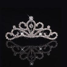 Cheap delicate princess tiara wedding jewelry manufacturer china birthday gift