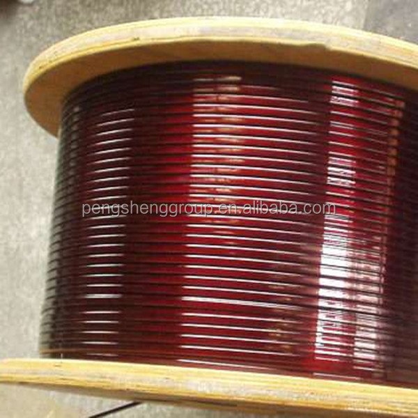 Low price!!!Enameled rectangular copper wire