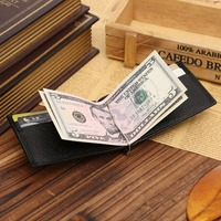 New design genuine leather money clip leather