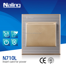 hotel Energy Saving time delay can Gain the Power Switch Insert Card