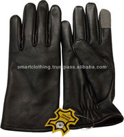 Unisex Touch Screen Glove/I Phone I Pad Touch Enable Gloves/Touch Screen Leather Fashion Gloves/Touch Glove for Tablet PC