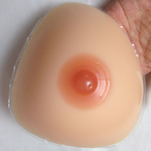 Natural soft making fake free silicone breast forms for men