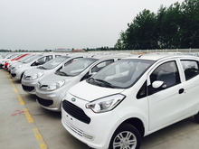 2015 top selling 4wheel 4seater electric car with EEC certification