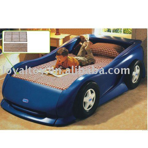 luxury children furniture car bed for kids