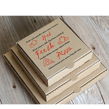 Custom Printed Clear 8 9 10 Inch Packaging Pizza Box