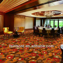Nylon Carpet for Lobby, Polyster and Wool Blended Carpet