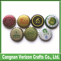 High quality beer custom bottle crown tinplate metal cap