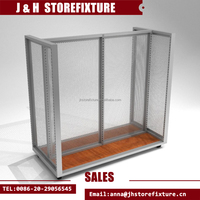 H Style Clothing Gondola With Upright