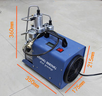 WEIHAO 300 bar air compressor for air gun or for breathing 30Mpa air compressorgood quality cheap price high pressure