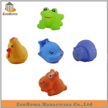 wholesale rubber bath toy animals, amazon,ebay supplier