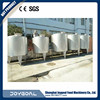 factory directly sale high quality stainless steel milk storage tank new