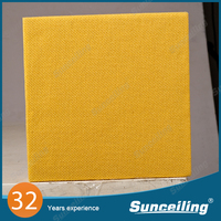Soundproof material fabric acoustic wall panels operating room