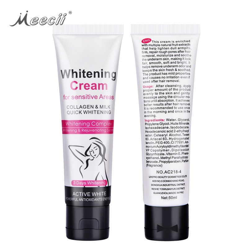 Aichun Beauty 50G Natural Moisturizing Armpit Bright Body Whitening <strong>Cream</strong>