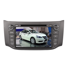 7 inch 2 Din TFT Screen Car DVD Player with TV Bluetooth GPS IPOD Functions forNissan Sylphy