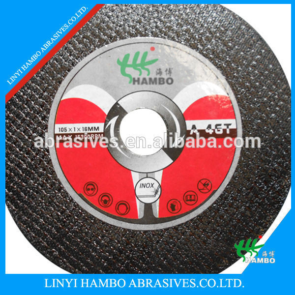 "150X3.0x22.2mm (7/8"") Cutting wheels for stainless steel & alloy steel Type 41/42/6 inch cut off wheel/ disc"