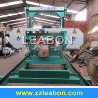 Wood working horizontal mobile portable sawmill used wood sawmill for sale