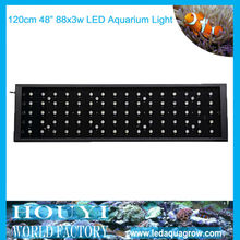 led waterproof aquarium lights 48inch 88*3w led aquarium light with remote controllerled system for wholesale price