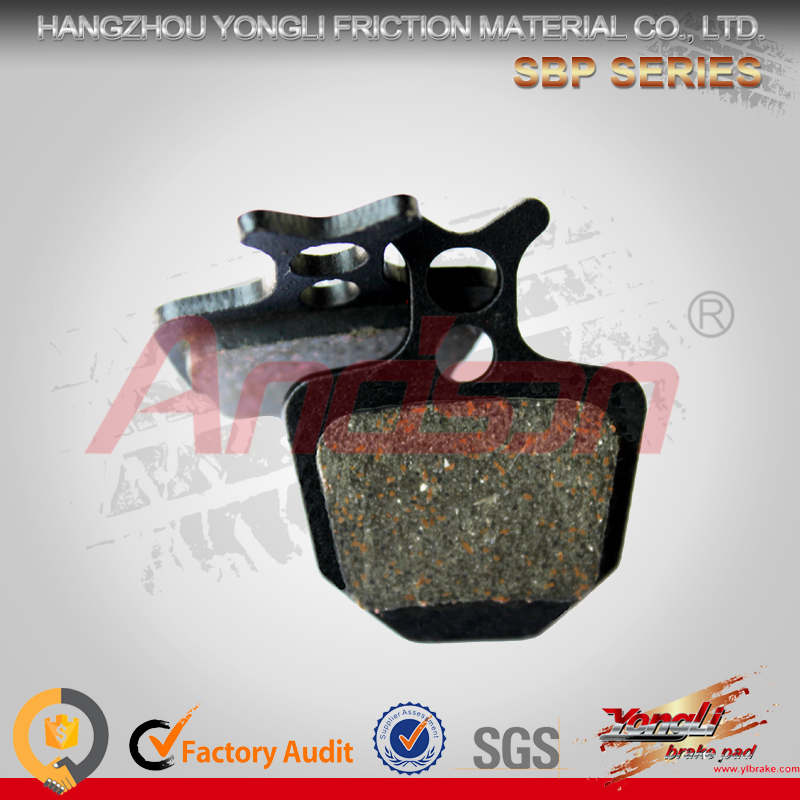 Chinese Manufacturer High-Safety multi street mountain bike brake pads for shimano zee