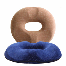 Hot Selling Comfort Cheap Decorative O Ring Circle Shape 3D Printed Therapeutic Custom Round Memory Foam Donut Seat Cushion