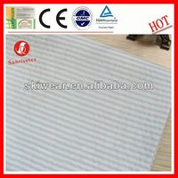 various breathable wicking stripe mattress ticking fabric