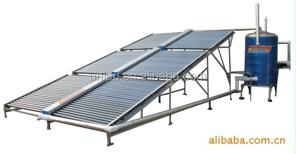 Evacuated Tube Solar Collector Pressurized Solar Water Heater System