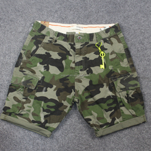 Men's New Arrival Mens cheap cargo pants Casual Cotton Baggy Shorts Working Overall Cargo Short Capri Pants NO BELT