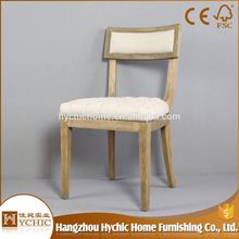 Hot Sale Kids Chair Solid Wood Carved Upholstered Living Room 6 Chair Dining Table Set