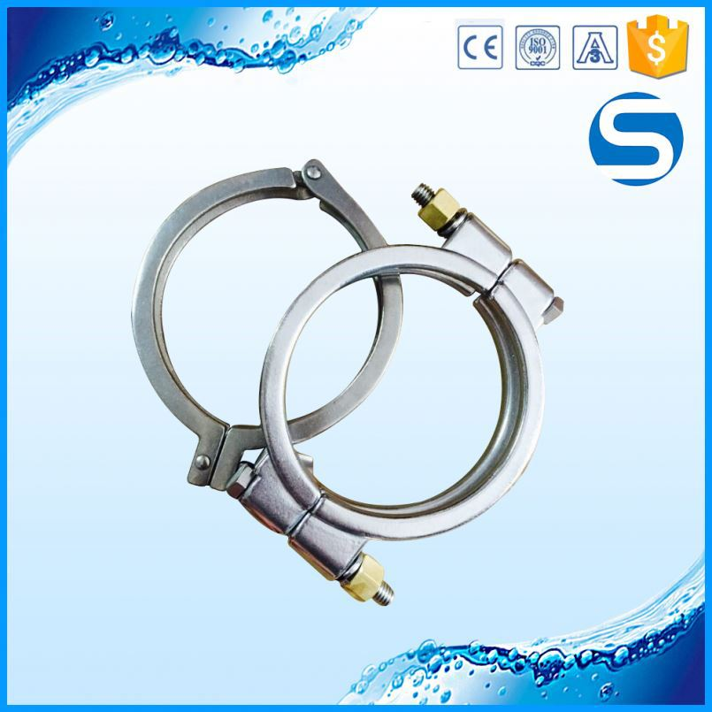 pipe fitting polished american tube clamp